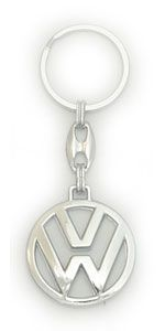 брелок металл лого (упаковка = 25шт) VW