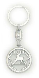 брелок металл лого (упаковка = 25шт) ГАЗ