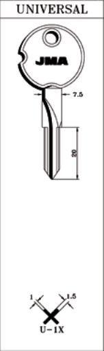 крест имп. прог. (= арт. 1211) U1X_x_x_x